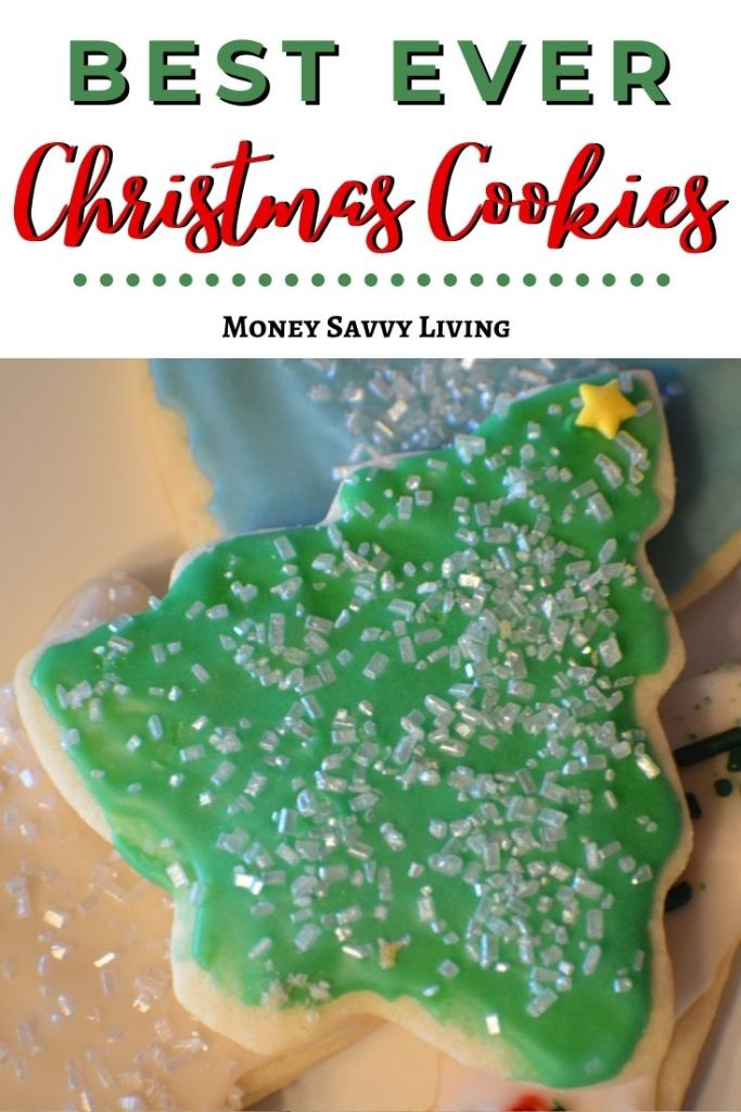 If you love traditional iced sugar cookies at Christmas, you need to try these! This classic recipe takes delicious, and they are fun to decorate! #Christmas #christmascookies #cookies #cookierecipe #christmascandy #sugarcookies #frostedcookies #icedcookies