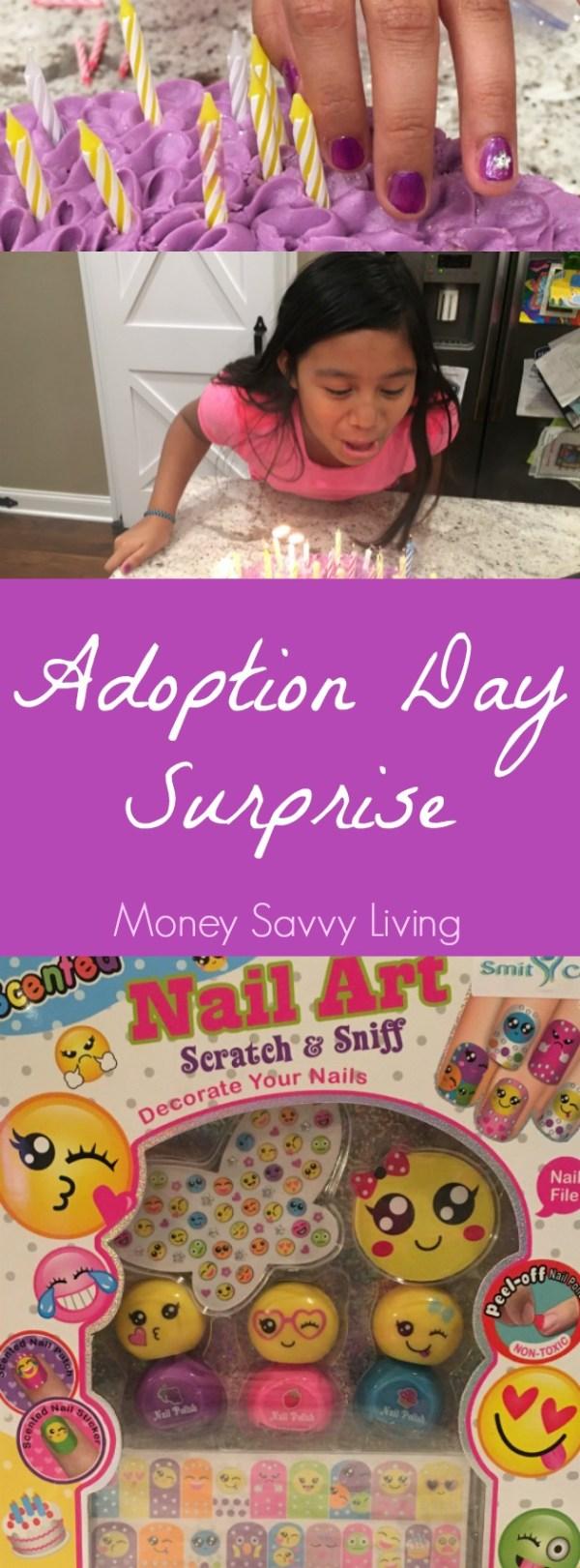 Adoption Day Surprise | Money Savvy Living