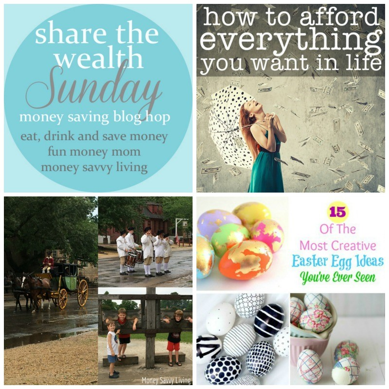 Share The Wealth Sunday 98 // Money Savvy Living