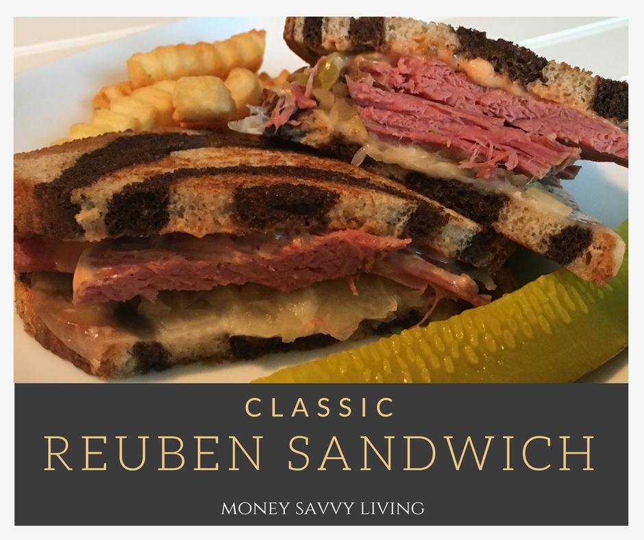 Classic Reuben Sandwich // Money Savvy Living