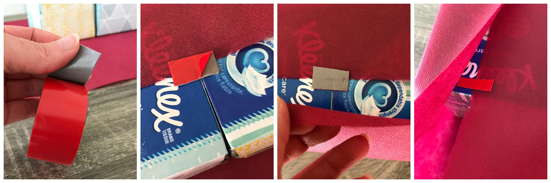 Tissue Box Storage Container + FREE Printable // Money Savvy Living 3