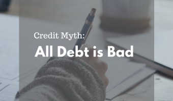 We have heard that living debt free is best... but is all debt truly bad? Actually, sometimes debt is good. Credit Myth: All Debt is Bad #lexingtonlaw #creditmyth #creditmythbuster #debt #debtfree