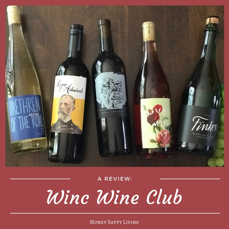 Winc Wine Club Review // Money Savvy Living #winc #wincwine
