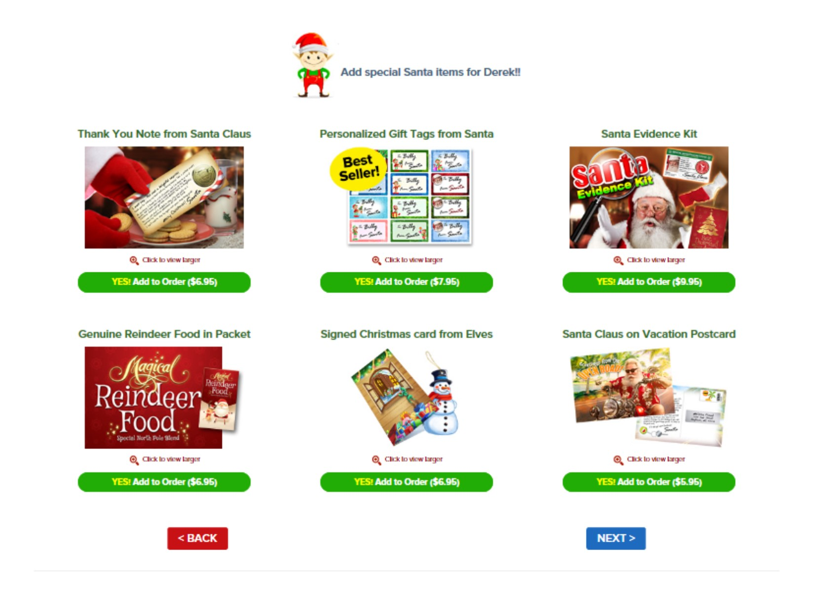 Make Christmas Magical with a Package from Santa {Review} // Money Savvy Living #packagefromSanta #letterfromSanta