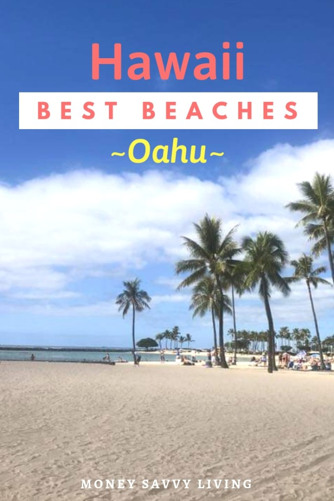 Planning a trip to Hawaii? Here are som of the Best Beaches in Oahu, Hawaii! #Hawaii #Oahu #hawaiibeaches #oahubeaches #Hawaiianvacation #beachvacation #Waikiki #Lanikai #Sunset #Kuilima #Waimea