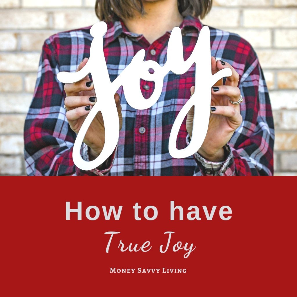Want to have true and lasting joy? You can! #joy #sparkjoy #inspirational #happy #happiness #peace
