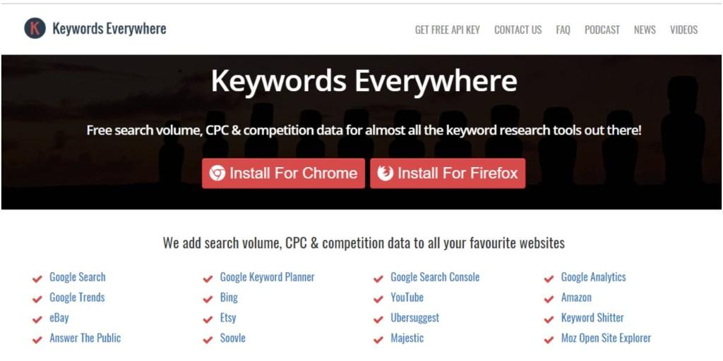 Free keyword tool #googleextension #keywordseverywhere #seo #keywords #keywordkeg #seotool