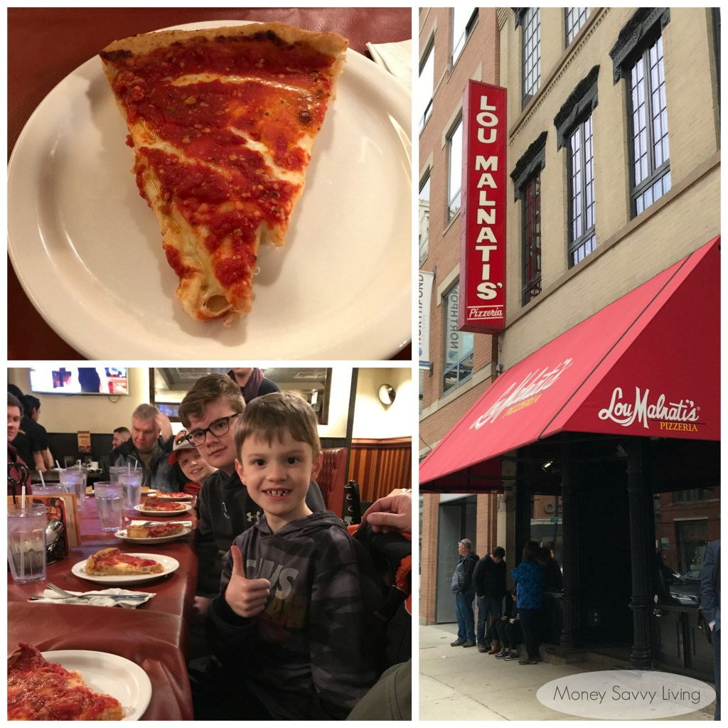 Best places to eat in Chicago! #chicago #chicagofood #travelchicago #loumalnatis #pizza #deepdishpizza #chicagostylepizza #deepdish