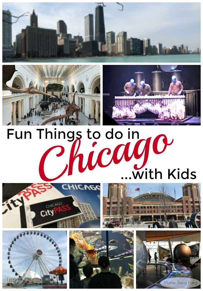 Looking for fun things to do with your family on your next trip to Chicago? Your kids will love all the top attractions in Chicago on this ultimate list! And find ways to save a lot of money too! #choosechicago #chicago #citypass #citypasschicago #bluemanchi #sheddaquarium #adlerplanetarium #fieldmuseum #navypier #loop #skydeck #360chicago #familyfun #familytravel #travel