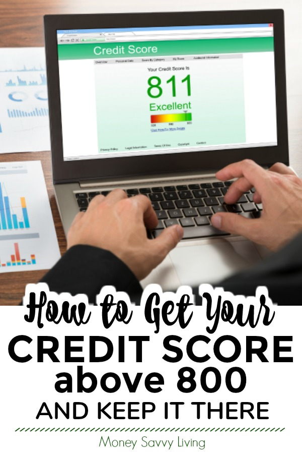 Do you have excellent credit or does your credit need some work? Learn how to get your credit score above 800 and keep it there. #creditrepair #creditscore #excellentcredit #finance #personalfinance #moneytips #credithistory #credit #moneyadvice #financeadvice #financetips