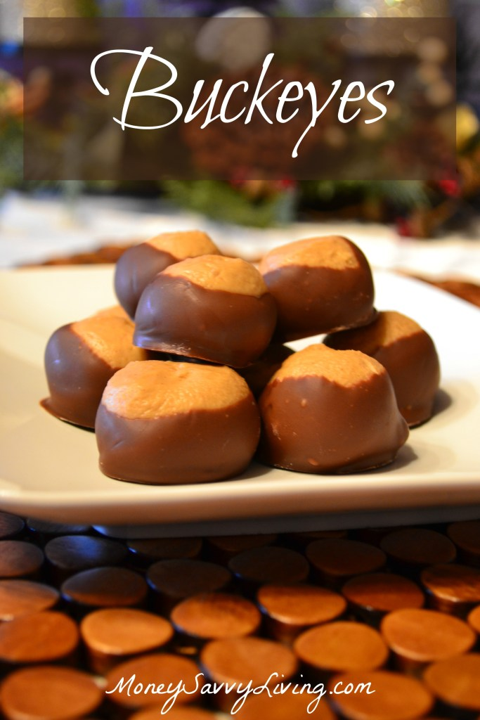 Buckeyes: Peanut Butter and Chocolate Bliss