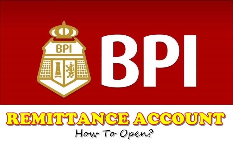 BPI REMITTANCE ACCOUNT