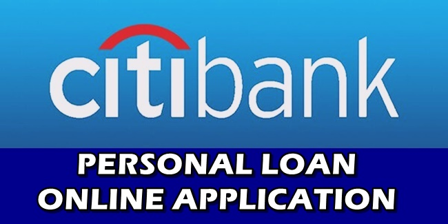 Citi Personal Loan Online Application