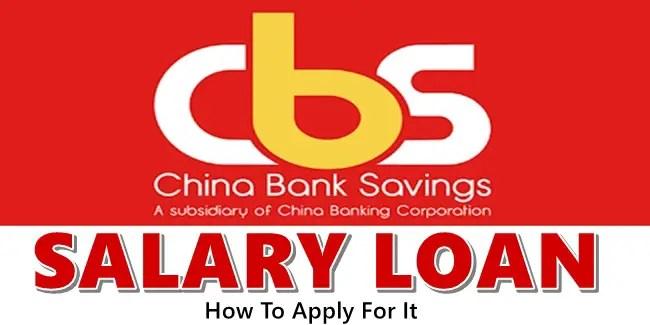 China Bank Salary Loan