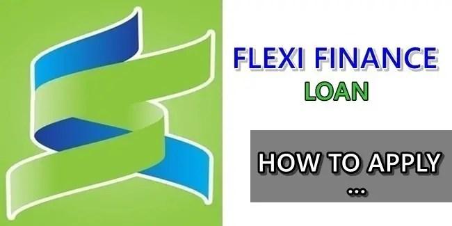 Flexi Finance Product Loan