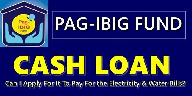 Pag-IBIG Cash-Loan