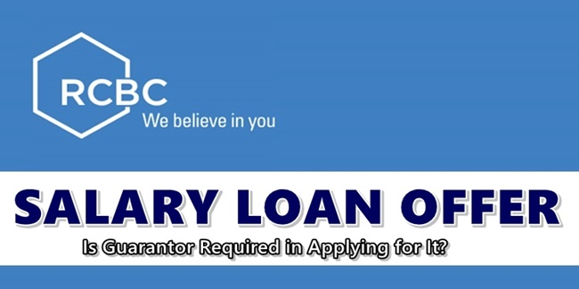 RCBC Salary Loan Offer