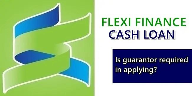 Flexi Finance Cash Loan Guarantor