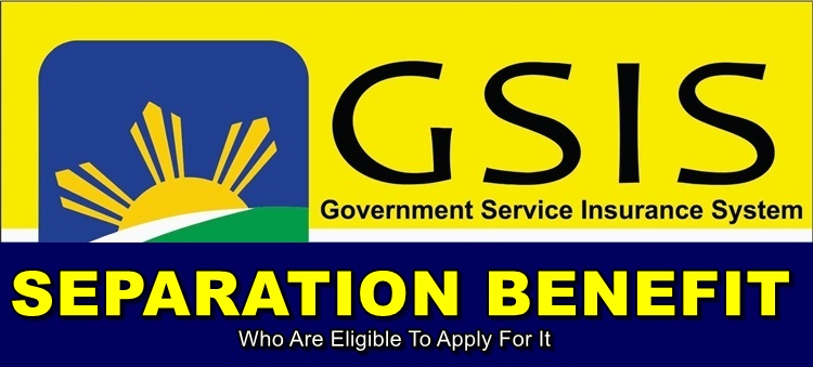 GSIS Separation Benefit