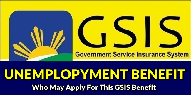GSIS Unemployment Benefit