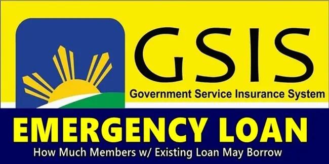 GSIS Emergency Loan