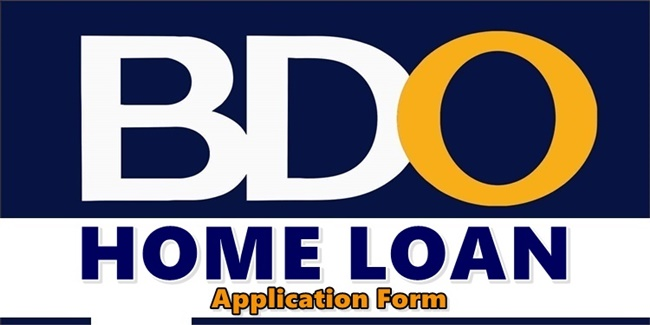 BDO Home Loan Application Form