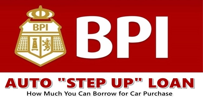 BPI Auto Step Up Loan