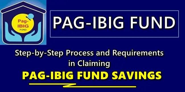 Claim Pag-IBIG Savings