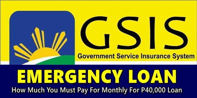 GSIS Emergency Loan