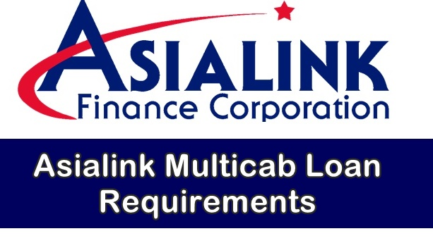Asialink Multicab Loan Requirements