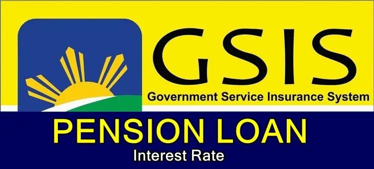 GSIS Pension Loan Interest