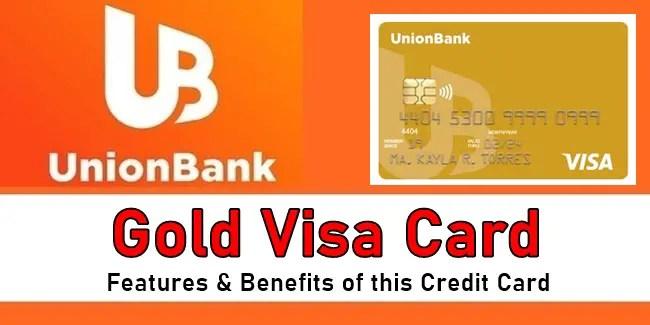 UnionBank Gold Visa Card