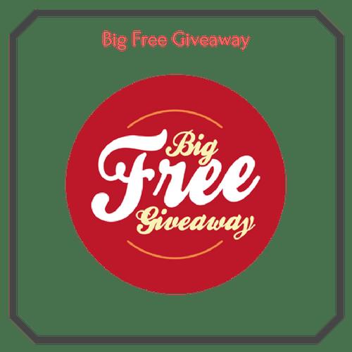 Big Free Giveaway Logo