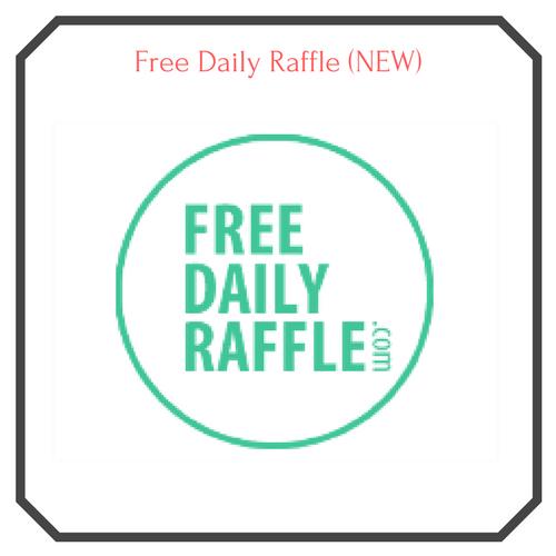 Free Daily Raffle Logo