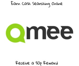 Qmee 50p Sign Up Offer
