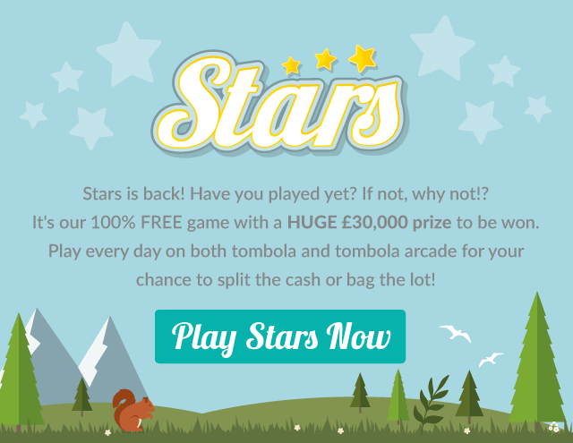 tombola £30,000 Stars Game