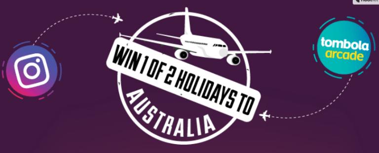 tombola Australia Holiday Giveaway Header
