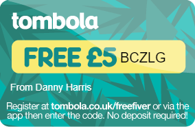 tombola Free £5 Code
