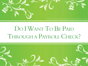 small business corporation for payroll