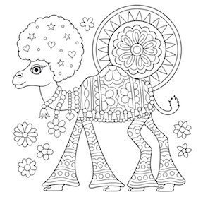 FREE Coloring Pages for Adults: 25 Cool Printable Design ... | free fun coloring pages for adults