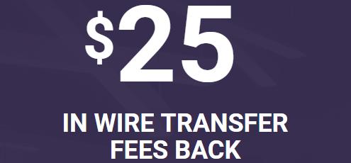 TradeKing $25 Wire Transfer Fee Bonus