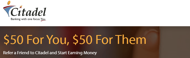 Citadel $50 Referral Bonus