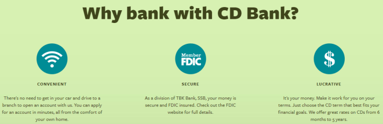 CD Bank CD Accounts