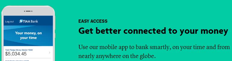 TIAA Bank Checking Mobile App