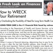 How to Wreck Your Retirement