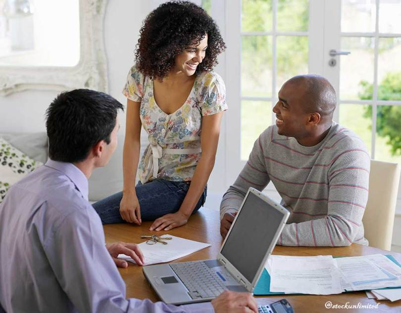South African couple discussing about personal loan requirement