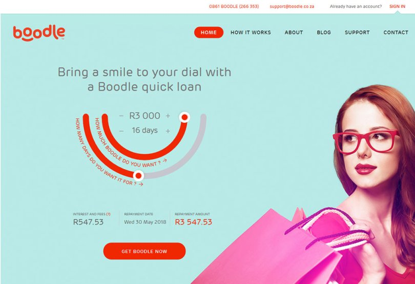 Boodle Personal Loans in South Africa