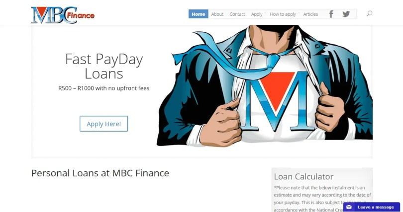 MBC Finance - Personal Loans