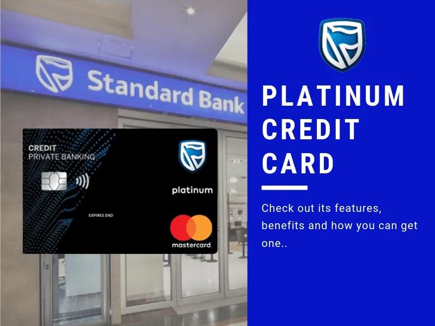 Standard Bank Platinum Credit Card