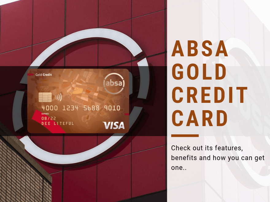 Absa Gold Credit Card in South Africa